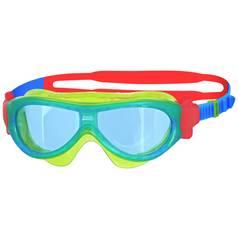 90d1cf2b63ba Zoggs Phantom Kid s Mask Swimming Goggles - Green and Blue