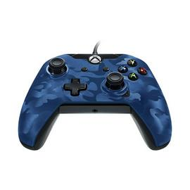 Licensed Xbox One Controller with Back Paddle - Blue Camo