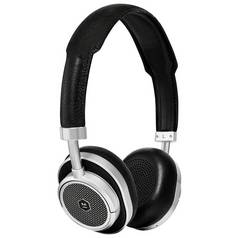 Master & Dynamic MW50+ On/Over Ear Wireless Headphones-Black
