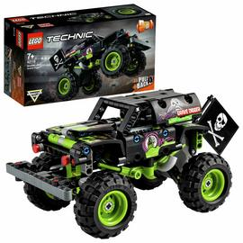LEGO Technic Monster Jam Grave Digger Truck 2 in 1 Set 42118