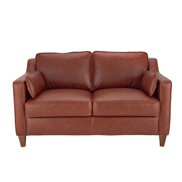 Tremendous Buy Argos Home Drury Lane 2 Seater Leather Sofa Tan Sofas Argos Home Interior And Landscaping Dextoversignezvosmurscom