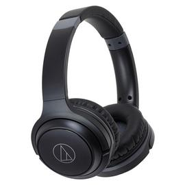 Audio Technica ATH-S200BTBK On-Ear Wireless Headphones-Black