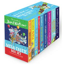 David Walliams Mega-Tastic Paperback Box Set