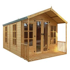 Mercia Wooden 10 x 8ft Premium Sussex Summerhouse