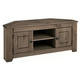 Argos Home Amersham Corner TV Unit - Dark Pine