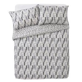 Argos Home Grey Triangle Tile Printed Bedding Set - Double