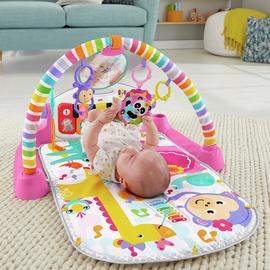 Fisher-Price Kick and Play Piano Baby Gym - Pink