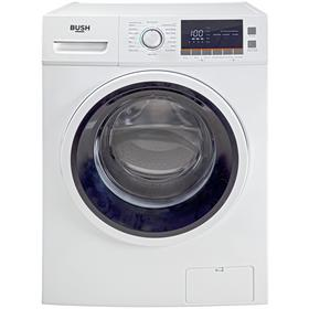 Bush WMNBX1016W 10KG 1600 Spin Washing Machine - White Best Price, Cheapest Prices