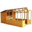 more details on Mercia Wooden 12 x 6ft Greenhouse Combi Shed