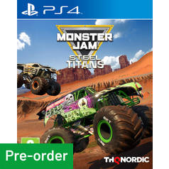 Monster Jam: Steel Titans PS4 Pre-Order Game