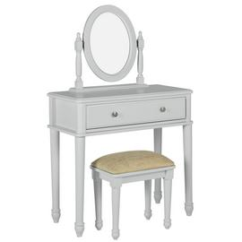Argos Home Ashbourne Soft Grey Dressing Table