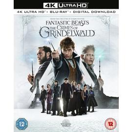 Fantastic Beasts: The Crimes of Grindelwald 4K UHD Blu-Ray