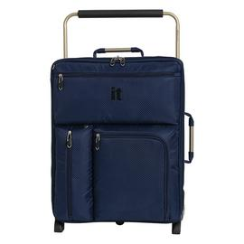 it Luggage World's Lightest 2 Wheel Soft Cabin Suitcase