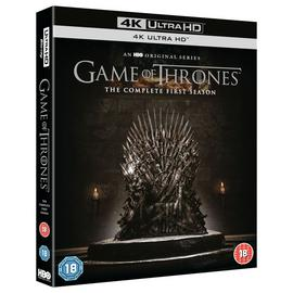 Game of Thrones Season 1 4K UHD Blu-Ray Box Set