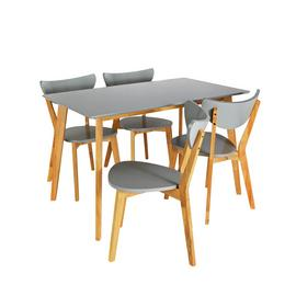 Argos Home Harlow Dining Table & 4 Chairs