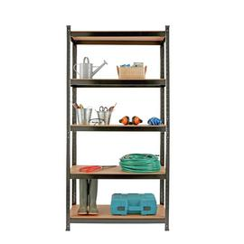 Argos Home 5 Tier Steel Heavy Duty Garage Shelving Unit