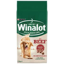 Winalot Adult Dry Dog Food Beef 9.5kg