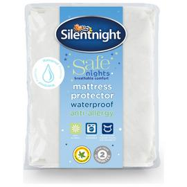 Silentnight Safe Nights Waterproof Mattress Protector Single