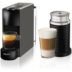 Krups Nespresso Pod Essenza Bundle - Grey