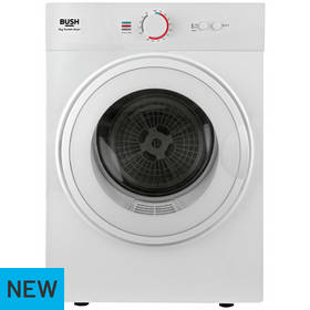 Bush TD3CNBW 3KG Vented Tumble Dryer - White