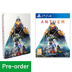Anthem Steelbook Edition PS4 Pre-Order Game