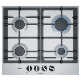 Bosch PCP6A5B90 Gas Hob - Stainless Steel