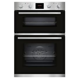 NEFF U1HCC0AN0B Built In Electric Double Oven - S/Steel