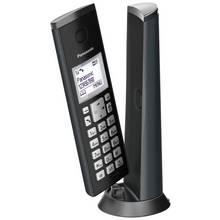 Panasonic KX-TGK220EM Cordless Telephone-GraphiteGrey Single