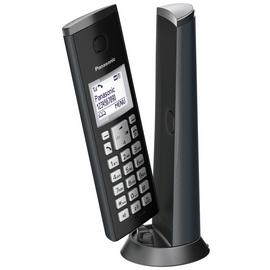 Panasonic KX-TGK220EM Cordless Telephone-GraphiteGrey Single