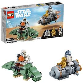 LEGO Star Wars Escape Pod Dewback Microfighters Set -75228