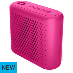 Philips BT55B/00 Portable Wireless Speaker - Pink