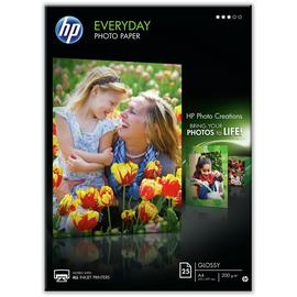 HP Everyday A4 Gloss Photo Paper - 25 Sheets