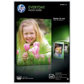 HP Everyday 10x15cm Gloss Photo Paper - 100 Sheets