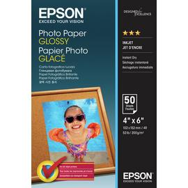 Epson 10x15cm Gloss Photo Paper - 50 Sheets