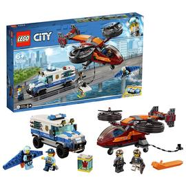 LEGO City Sky Police Diamond Heist Toy Helicopter Set- 60209