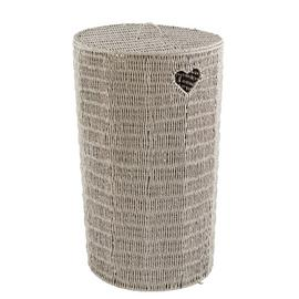Argos Home Woven Hearts Laundry Basket