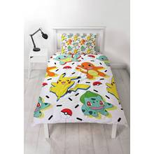 Pokemon Memphis Bedding Set