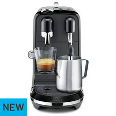Sage Nespresso Creatista Uno Pod Coffee Machine - Black