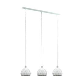 Eglo Roccaforte 3 Light Pendant - White