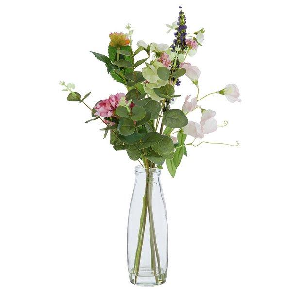Buy Argos Home Botanist Artificial Flowers In Vase Artificial Flowers Plants And Trees Argos
