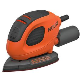 Black & Decker Mouse Sander with 10 Accessories - 55W