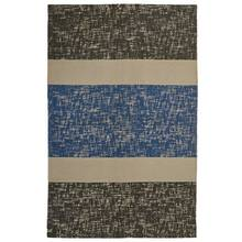 Argos Home Textured Rug - 120x160cm - Blue and Grey
