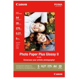 Canon A4 Photo Paper Plus Glossy II- 20 Sheets