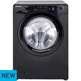 Candy GVS128D3B 8KG 1200 Spin Washing Machine - Black