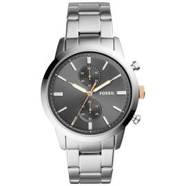 Fossil Townsman Men's Grey Dial and Silver Bracelet Watch