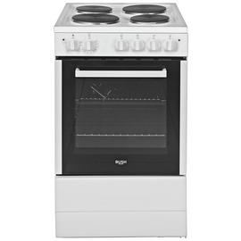 Bush BESAW50W Single Electric Cooker - White Best Price, Cheapest Prices