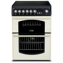 Hotpoint CH60ETC 60cm Double Oven Electric Cooker - Cream Best Price, Cheapest Prices