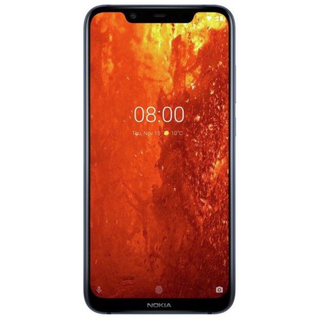 Buy SIM Free Nokia 8 1 64GB Mobile Phone - Blue Steel | SIM free phones |  Argos