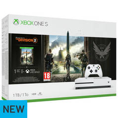 Xbox One S 1TB Console & The Division 2 Bundle