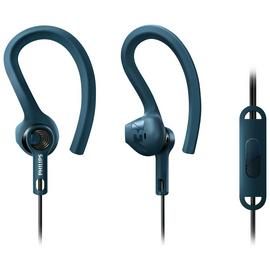 Philips SHQ1405 Sports In-Ear Headphones - Blue